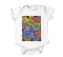 Psychedelic One Piece - Short Sleeve