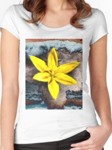 Sonic Bloom Women's Fitted Scoop T-Shirt