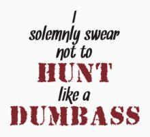 I Solemnly Swear - Hunter Style (Light) Kids Tee