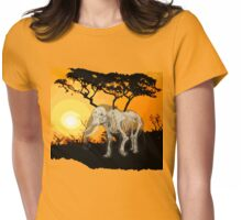 Morning over Memory - Version 2 Womens Fitted T-Shirt