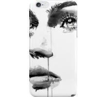 face study #16 iPhone Case/Skin