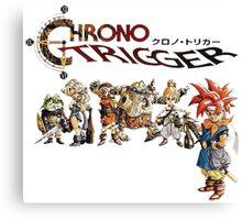 Chrono Trigger Main Cast Canvas Print