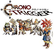 Chrono Trigger Main Cast Photographic Print