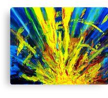 Original Abstract Art  #201 Canvas Print
