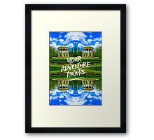 Your Adventure Awaits Temple of Love Versailles Paris Framed Print