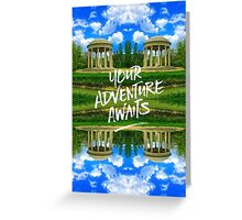 Your Adventure Awaits Temple of Love Versailles Paris Greeting Card