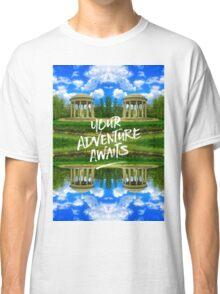 Your Adventure Awaits Temple of Love Versailles Paris Classic T-Shirt