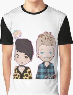 Sup3erFruit Cartoon Redesign Graphic T-Shirt