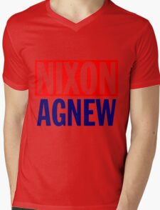 NIXON/AGNEW (1968)-2 Mens V-Neck T-Shirt
