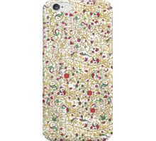 Thursday Roses Page template iPhone Case/Skin
