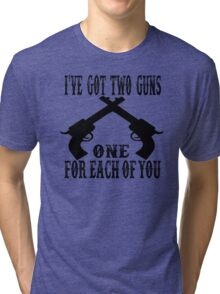 Tombstone Quote Tri-blend T-Shirt