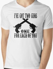 Tombstone Quote Mens V-Neck T-Shirt
