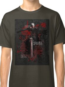 Devil May Cry 1 - Devil Hunter 3 Classic T-Shirt