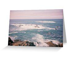 California's Pacific Ocean Greeting Card