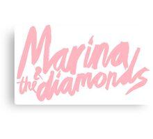M Logo Pink  Canvas Print