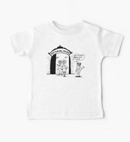 Zoo Humour - Cartoon 0002 Baby Tee