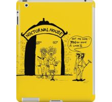 Zoo Humour - Cartoon 0002 iPad Case/Skin