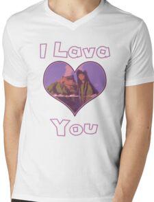 I Lava You Mens V-Neck T-Shirt