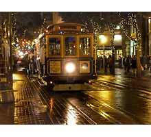 San Francisco Cable car Photographic Print