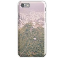 Sugarloaf cable cars iPhone Case/Skin