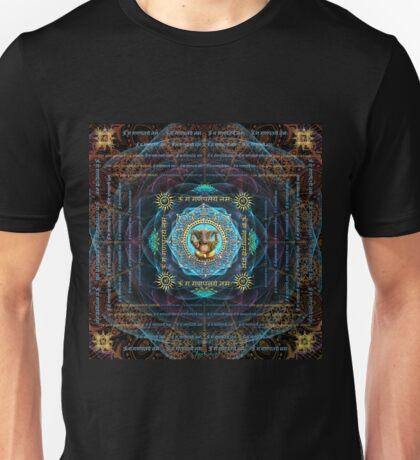 Ganesha - Removes obstacles - Om Gam Ganapataye Namah Unisex T-Shirt