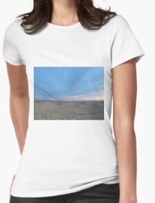 Endless Dunes Womens Fitted T-Shirt