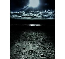 Manhattan Beach Dark Photographic Print