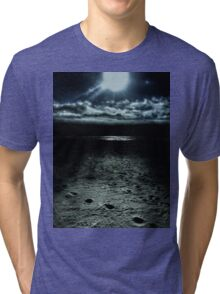 Manhattan Beach Dark Tri-blend T-Shirt
