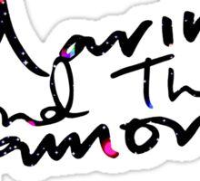 M Logo II Froot Background Sticker
