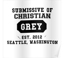 50 SHADES OF GREY - SUBMISSIVE Poster