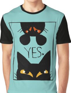 Cat and mouse Graphic T-Shirt