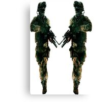 army  two Canvas Print