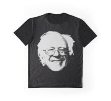 Bernie Sanders Head  Graphic T-Shirt