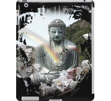 buddha rainbow iPad Case/Skin