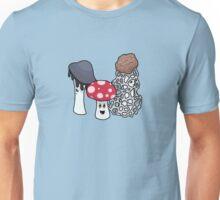 Mushroom Trio v. 2 Unisex T-Shirt
