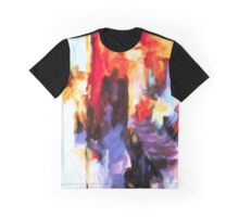 Seven Steps Abstract Graphic T-Shirt
