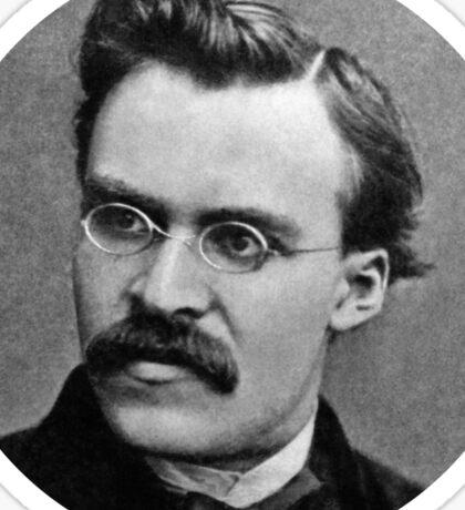 Friedrich Nietzsche sticker Sticker