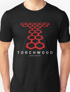 DOCTOR WHO Torchwood University Linear 1 T-Shirt