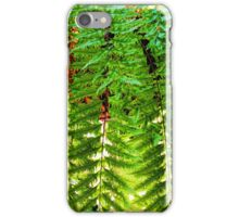 Swordfern Basket iPhone Case/Skin