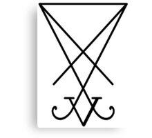 Luceferenist Satanism Canvas Print