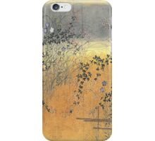Fall Fence iPhone Case/Skin