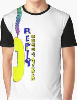 Telephone.Reply 1988 Graphic T-Shirt