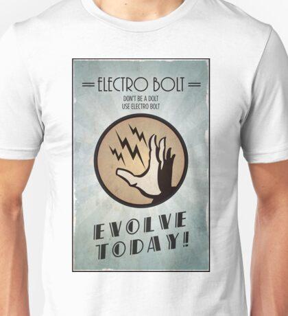 Bioshock Plasmid Poster Electro Bolt Unisex T-Shirt