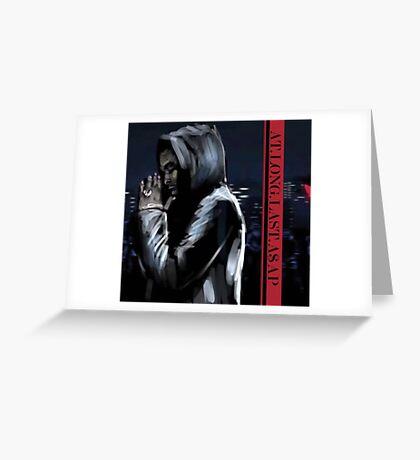 ASAP ROCKY  -  JD Greeting Card