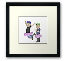 Pretty Princesses Framed Print