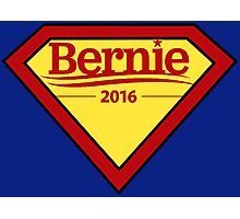 Bernie Sanders - Superhero Photographic Print