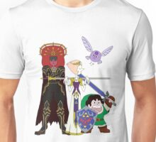 Steven Universe meets the Legend of Zelda Unisex T-Shirt