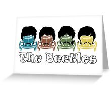 The Beatles/Beetles Greeting Card