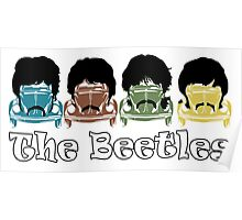The Beatles/Beetles Poster