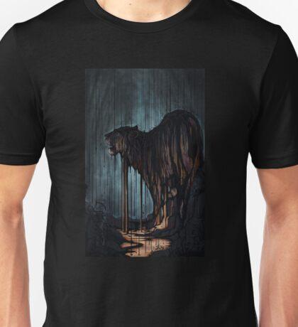 Oil Rain Tiger Unisex T-Shirt
